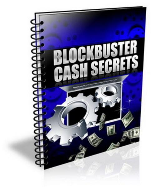 Product picture Blockbuster Cash Secrets